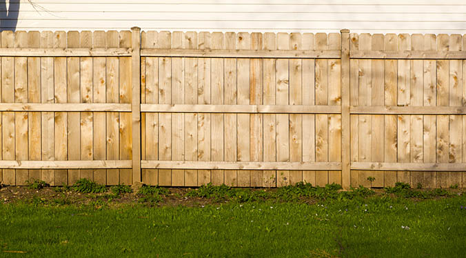 Garden Fencing Landscaping Harris Fencing Hire