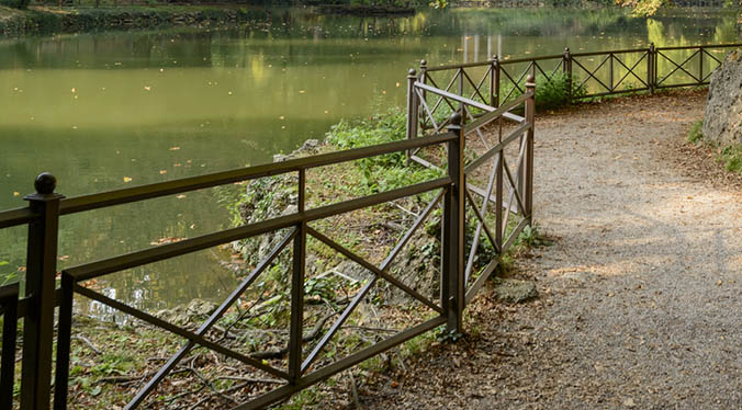 Public Park Railings UK